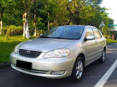 丰田花冠 2004款 1.8L 自动GL-i