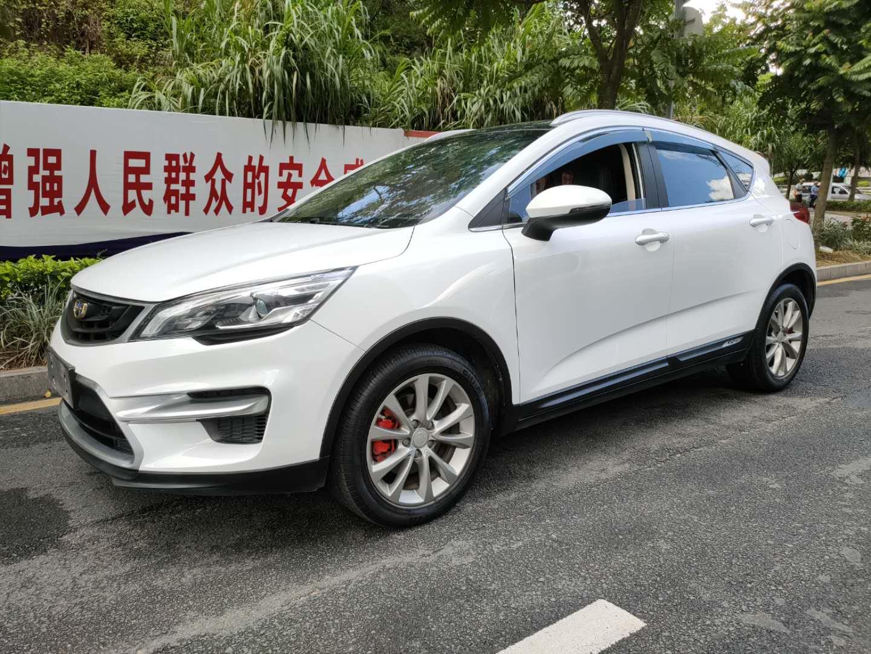 吉利汽车帝豪GS 2018款 领潮版 1.4T 自动臻尚智联型