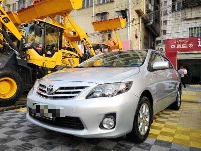丰田卡罗拉 2013款 特装版 1.6L 自动炫酷型GL