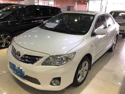 丰田卡罗拉 2011款 1.8L CVT GLX-i