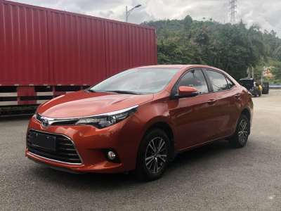 丰田雷凌 2015款 1.6G CVT橙色限量版