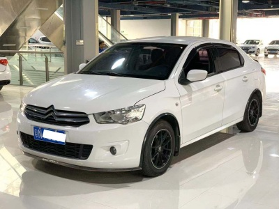 雪铁龙爱丽舍 2014款 1.6L 自动豪华型